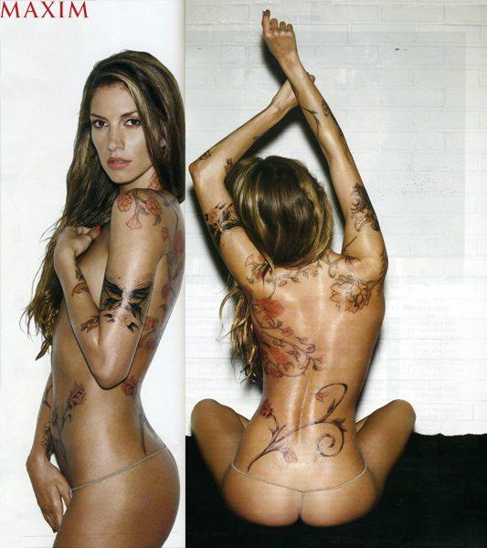 Dawn Olivieri Nuda su Maxim