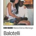 Mario Balotelli e Maria Elena Monego