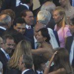 Mara Carfagna vicino a Silvio Berlusconi