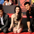 Kristen Stewart, Robert Pattinson e Taylor Lautner © Kevin Winter / Getty Images