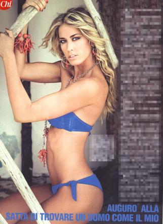 Elena Santarelli Calendario Nuda.Malissa Satta Ed Elena Santarelli Sexy Per Alfonso Signorini