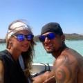 Melissa Satta e Kevin Prince Boateng in Corsica