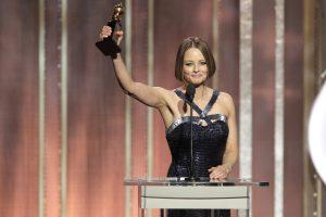 Jodie Foster al Golden Globe | © Paul Drinkwater / Getty Images