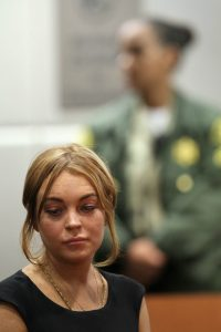 Lindsay Lohan in tribunale | ©  David McNew / Getty Images
