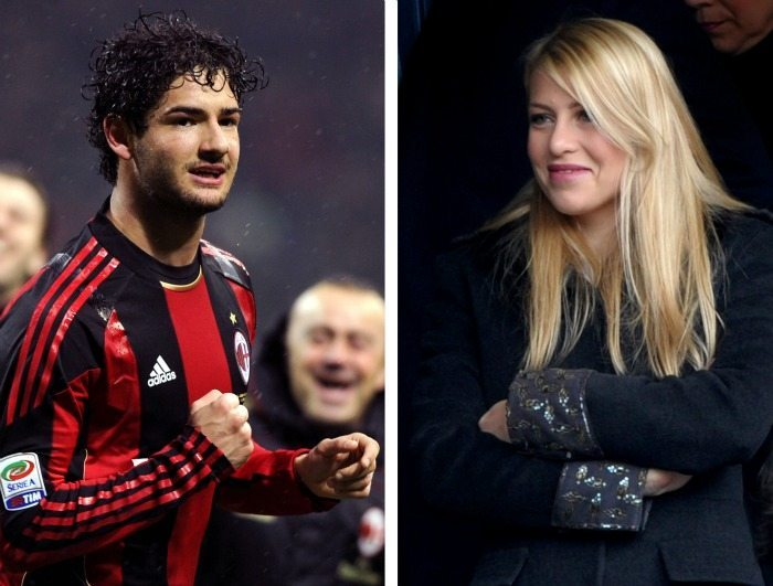 Alexandre Pato, Barbara Berlusconi | © GIUSEPPE CACACE / Getty Images