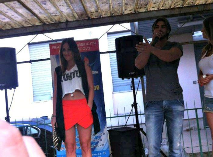 Teresanna Pugliese e Francesco Monte | © Facebook