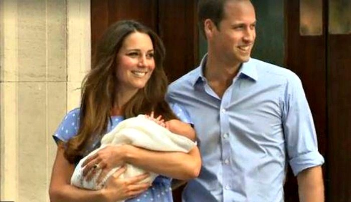 William e Kate presentano il Royal Baby