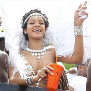 Rihanna angelo delle Barbados | Foto web