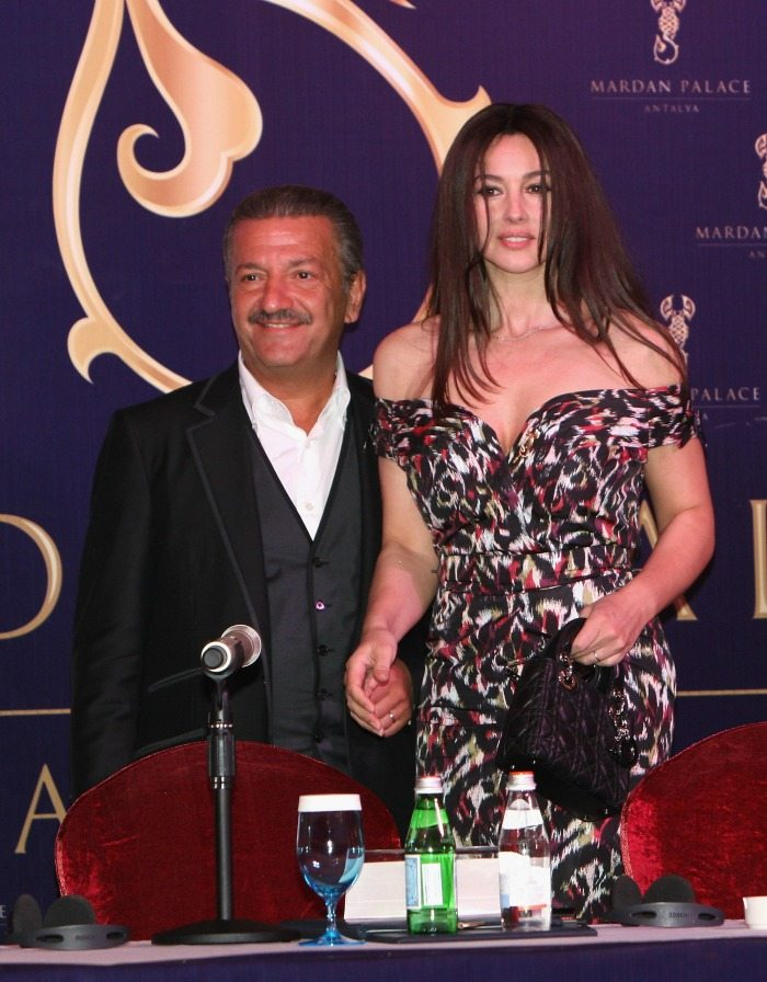 Telman Ismailov e Monica Bellucci | © Chris Jackson / Getty Images
