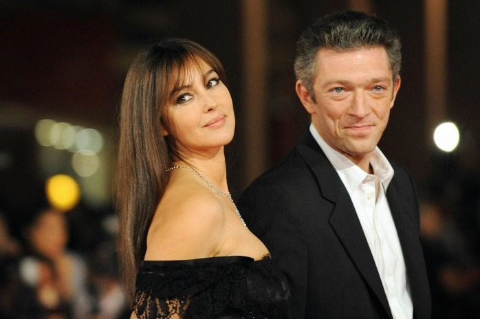 Monica Bellucci e Vincent Cassel | © ALBERTO PIZZOLI / Getty Images