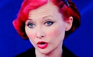 Karine Leclere in tv