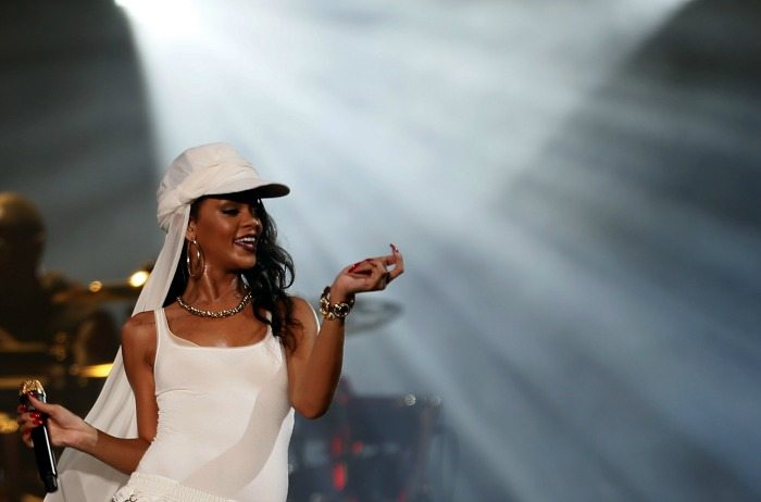 Rihanna in concerto ad Abu Dhabi | ©  KARIM SAHIB / Getty Images