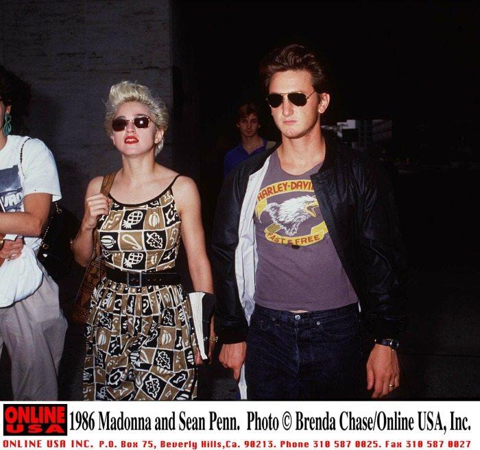 Madonna e Sean Penn nel 1997 | © Brenda Chase / Getty Images