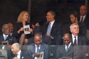 Barak Obama e Helle Thorning-Schmidt |© ALEXANDER JOE/AFP/Getty Images