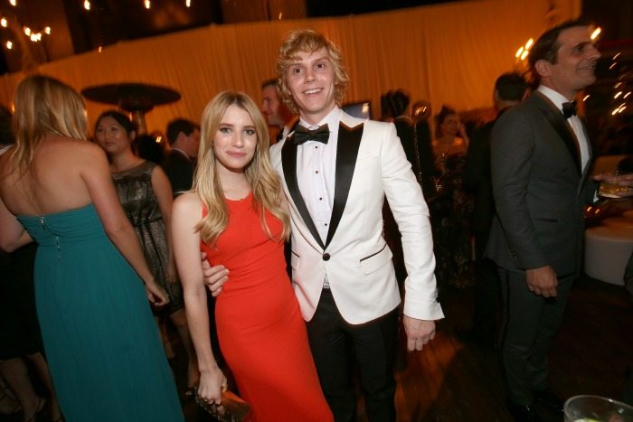 Evan Peters e Emma Roberts | © Christopher Polk / Getty Images