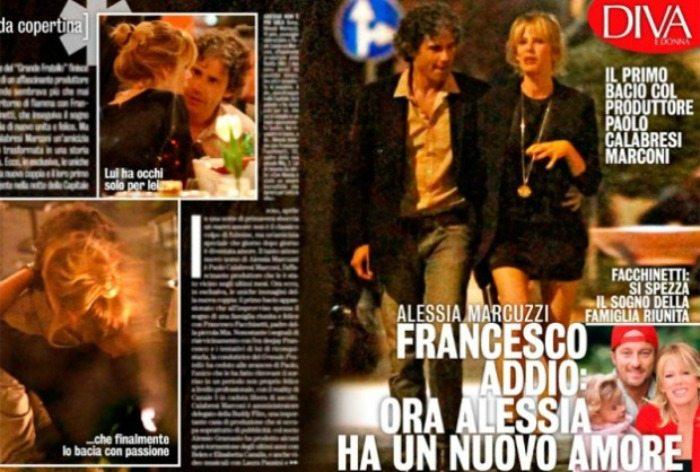 Alessia Marcuzzi e Paolo Calabresi Marconi | Diva e Donna