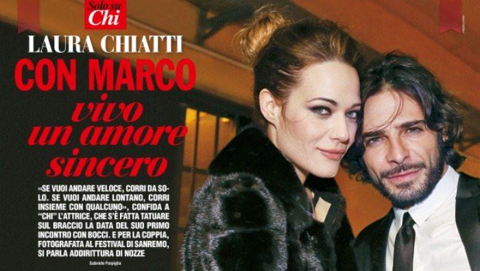 Laura Chiatti e Marco Bocci | © Chi