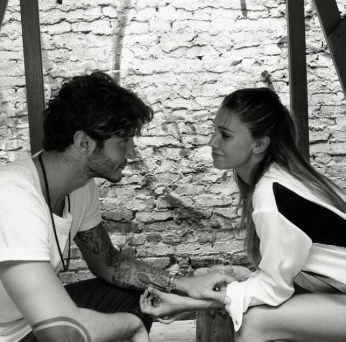 Stefano De Martino e Belen Rodriguez | © Instagram