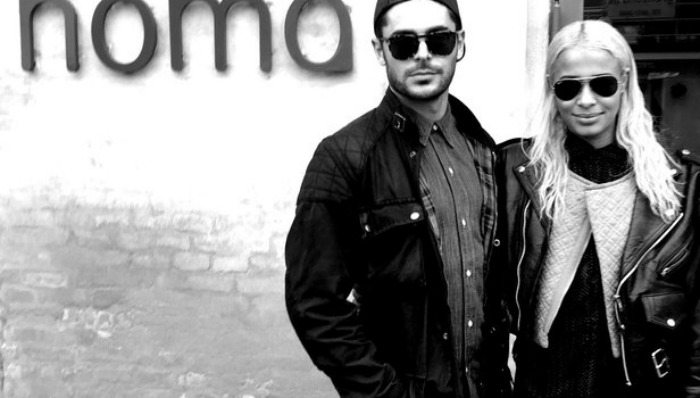 Zac Efron e Sami Miro   © Zac Efron