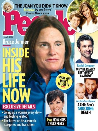Bruce Jenner - La cover di People