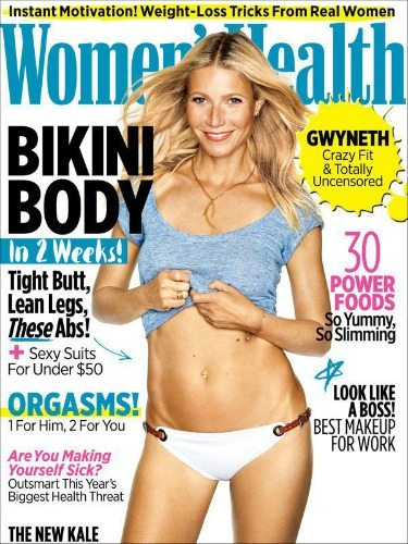 Gwyneth Paltrow su Women's Health