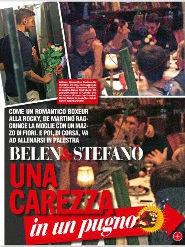 Stefano De Martino e Belen Rodriguez | © Chi