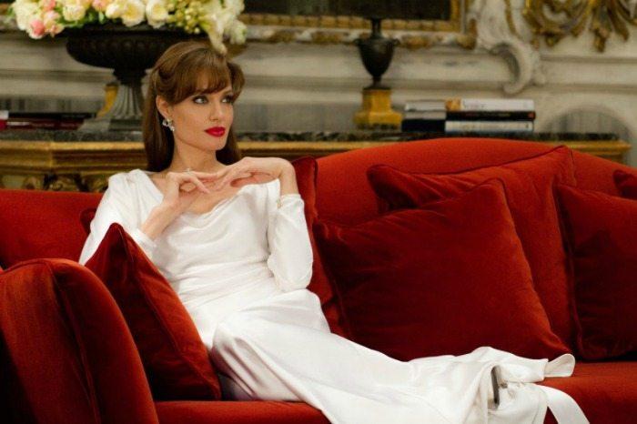 "Angelina Jolie nel film ""The Tourist"""