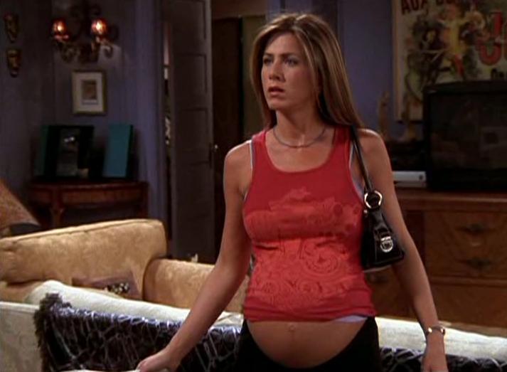 Jennifer Aniston incinta in Friends