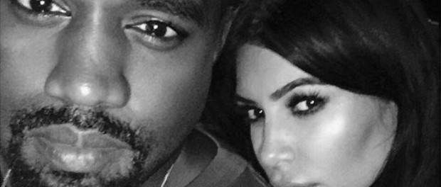 Kanye West e Kim Kardashian | © Facebook / Kim Kardashian