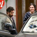 Lamberto Sanfelice e Charlotte Casiraghi a Roma | © Chi