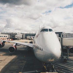 Su un jet privato