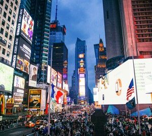 Il capodanno a Times Square